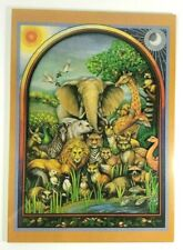 WILD ANIMALS of the WORLD - 3-D Stand or Hang Plaque-Art by Gwyn Wahlmann NIP