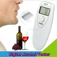 ALCOHOLIMETRO DIGITAL PORTATIL Breath Alcohol Tester Breathalyser Analyzer HOT !