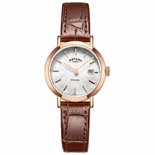 Rotary Genuine Leather Strap Analog Wristwatches