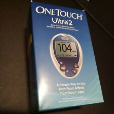 OneTouch Ultra 2 Blood Glucose Meter Monitoring System Complete Kit