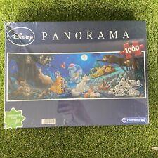 Disney Panorama Clementoni 1000 Piece Jigsaw Puzzle 98 X 33cm - Damaged Box NEW