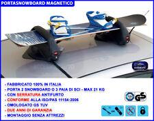 Porta sci- Portasci magnetico -Porta Snowboard per HONDA CR-V IV dal 2012>
