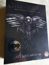 GAME OF THRONES.  THE COMPLETE FOURTH SEASON..ALL MEN MUST DIE. NEW SEALED