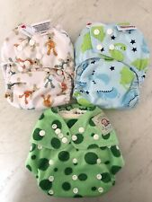 BamBooty MCNs Reusable Baby Modern Cloth Nappies Diapers  + inserts