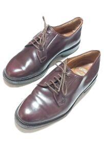 Silvano Lattanzi rare bespok shoes Cordovan Lace Up  Sz 7.5 US Handmade Italy