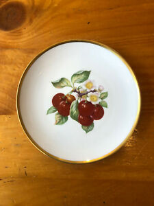 Hutschenreuther Selb Pasco Bavaria Germany china plate - Cherries