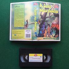 VHS - IL LIBRO DELLA GIUNGLA Bim Bum Bam (ITA 1991) Sigla di CRISTINA D'AVENA