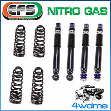 "Landrover Defender 110 1992 on 4WD EFS Shocks + Coil Springs 2"" 50mm Lift Kit"
