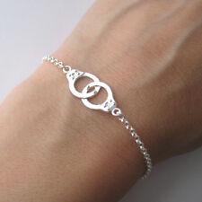 Bracelet menottes en argent 925 BR171