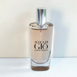 Giorgio Armani Acqua di Gio Absolu Eau de Parfum Travel Spray for Men, 15ml, New