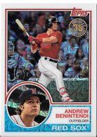 ANDREW BENINTENDI 2018 Topps Series 1 1983 TOPPS CHROME Silver Pack #18 RED SOX