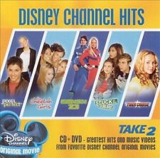 Disney Channel Hits: Take 2 [CD/DVD Combo] 2005 by Disney SEALED Free Shipping.