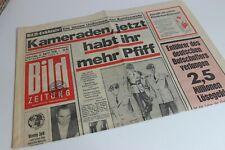 BILDzeitung 04.04.1970 April Umschlagsseiten / 4 Seiten     Bundeswehr