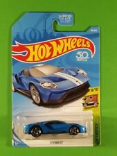 Hot Wheels - '17 Ford Gt (Blue) [Hw 50th Anniversary]