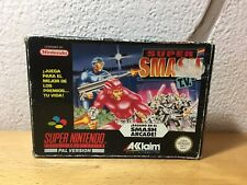 SUPER SMASH TV SUPER NINTENDO SNES PAL ESP ( No manual)