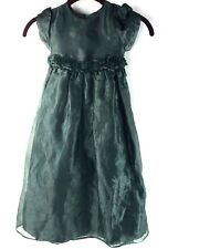 vtg JESSICA MCCLINTOCK Toddler Girls DRESS Holiday FORMAL PARTY GOWN Christmas 4