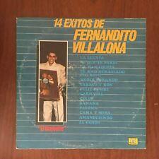14 Exitos De Fernandito Villalona [1987] Vinyl LP Latin Pop Merengue Guaracha