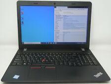 """Lenovo Thinkpad E570 i5-6200U 12GB RAM 128GB M.2-2280 SSD 15.6"""" HD Win 10 Pro"""