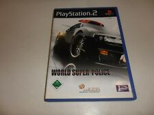 PlayStation 2  PS 2  World Super Police