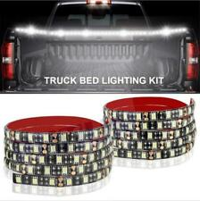2x150CM / 60Inch IP67 180LED 6000K White Pickup Truck Cargo Bed LED Light Strip