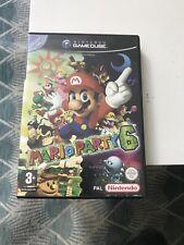 Mario Party 6 – Nintendo Gamecube PAL français – Sans Jeu !!!!!! Notice Incluse