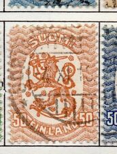 Finland 1917  Early Issue Fine Used 50p. 151619