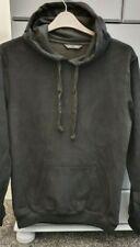 Men's Ex New Look Black Hooded Sweatshirt Size L New