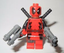 GENUINE LEGO MARVEL DEADPOOL MINIFIGURE FROM 6866 WOLVERINE'S CHOPPER SHOWDOWN