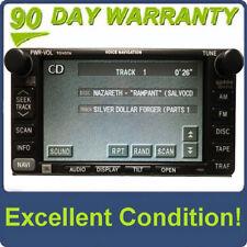 TOYOTA Sienna JBL Navigation GPS System LCD Screen Radio CD Tape Player 17005