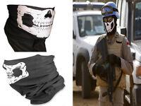 Cool Tubular Skull Ghosts Mask Bandana Motorcycle Biker Sport Scarf Neck Warmer