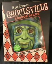 Ben Cooper Ghoulsville  Horror Decor - GRAVEYARD GHOUL Glow In The Dark NEW!