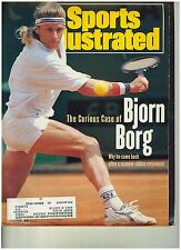 May 5 1991  issue of Sports Illustrated Bjorn Borg Scandle  Cover