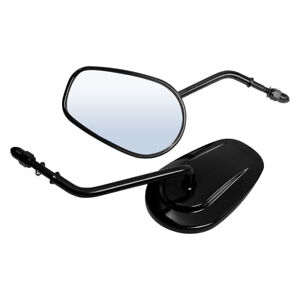 Rearview Mirrors Fit For Harley Davidson Softail Springer Heritage Classic Dyna