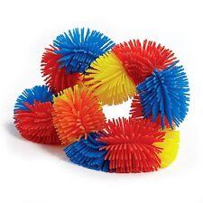 Tangle Jr. Fidget Toy Hairy Sensory Red Orange Yellow Blue