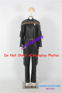 Star Trek Odyssey Operations Uniform Cosplay Costume faux leather made