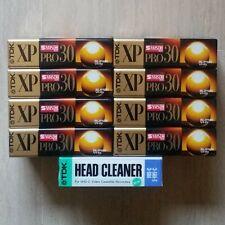 Tdk Head Cleaner Vhs-c S-vhs-c Pulisci Testina
