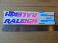 VINTAGE BIKE RALEIGH TRANSPARENT STICKER DOWNTUBE NOS