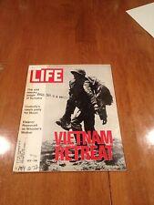 LIFE Magazine Vietnam Retreat May 12 1972 J. Edgar Hoover Dies Sumatra Babe Ruth
