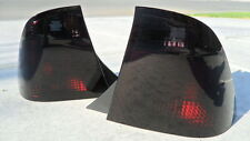2005-2007 Focus ZX4 4D  Smoked tail Lights Black OEM Tinted non led 05 06 07