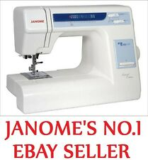 Janome My Excel 18W LE Sewing Machine New Quilting Dressmaking Top of the Line