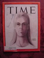 TIME March 5 1965 3/5/65 JEANNE MOREAU RUFINO TAMAYO ++