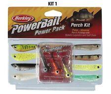 Berkley POWERBAIT POWER PACK-PESCE PERSICO KIT RIF: 1210491 ** 2018 STOCK **