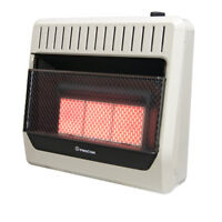 ProCom MN3PHG  Ventless Infrared Natural Gas Wall Heater - 30,000 BTU, Vent Free