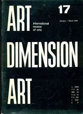 Art Dimension. International review of arts. N.17 January March 1979