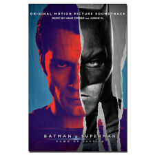 Batman v Superman Dawn of Justice Poster Wall Art For Home Decor 24X36inch