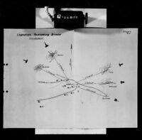 Westwall Pläne von schwerer Artillerie Batterien von 1938 - 1942