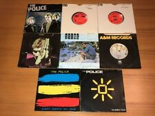 "The Police 45RPM Speed New Wave 7"" Singles"