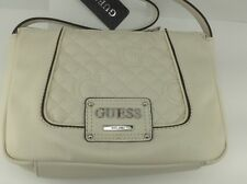 Women's GUESS White Stone AMALIA Handbag - $88 MSRP - 30% off
