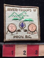 Canada Patch Inver-Troops 91 Prov. British Columbia C77N
