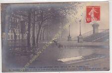 CPA 75016 PARIS Crue de la Seine 1910 quai de Billy Edit ND ca1910